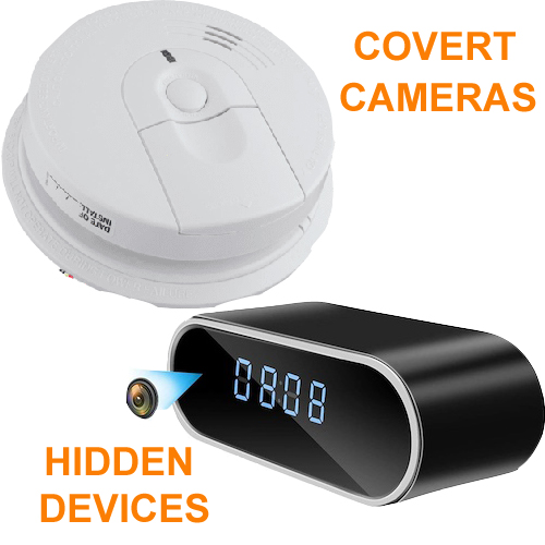 Covert spy cameras, Hidden Surveillance Products