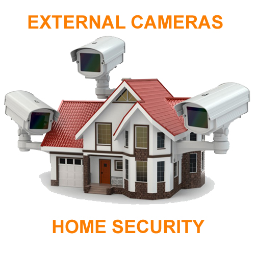 External Security cameras, home security products